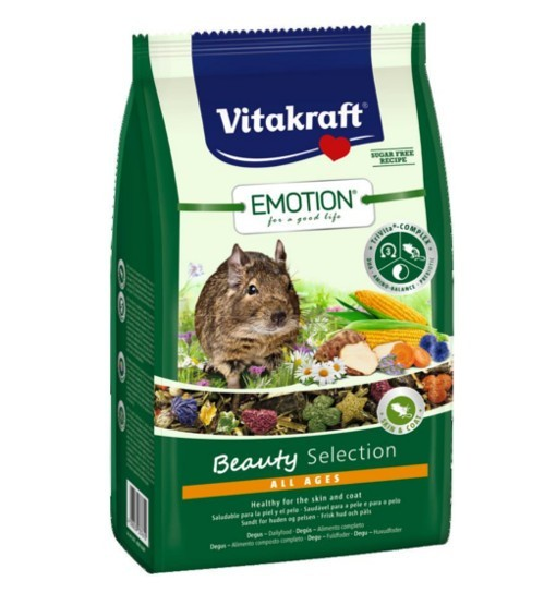 Vitakraft Emotion Beauty 600g - karma dla kosztaniczki