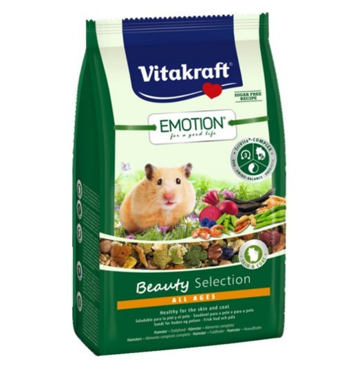 Vitakraft Emotion Beauty 600g - karma dla chomika