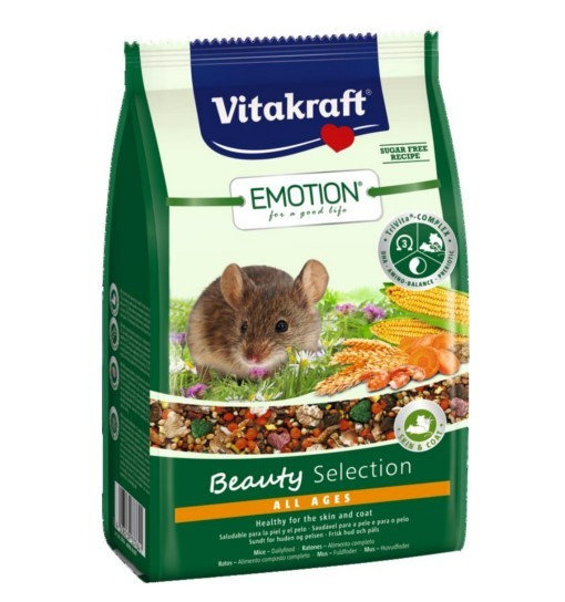 Vitakraft Emotion Beauty 300g - karma dla myszki