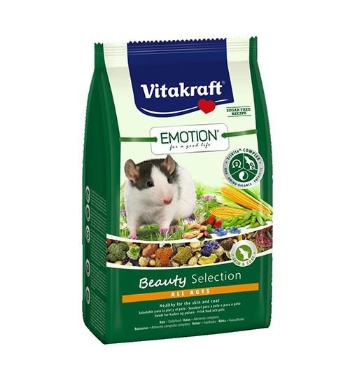 Vitakraft Emotion Beauty 600g - karma dla szczurów