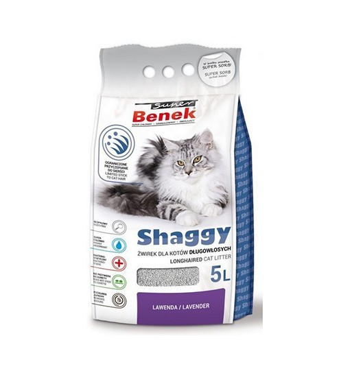 Benek Shaggy 5l - lawenda