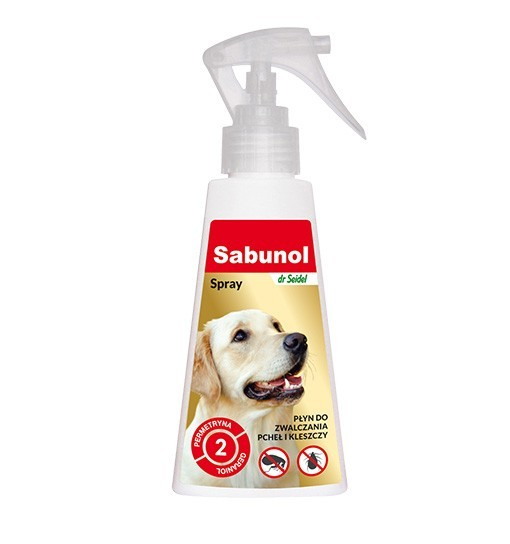 SABUNOL - spray do odstraszania pcheł 100 ml