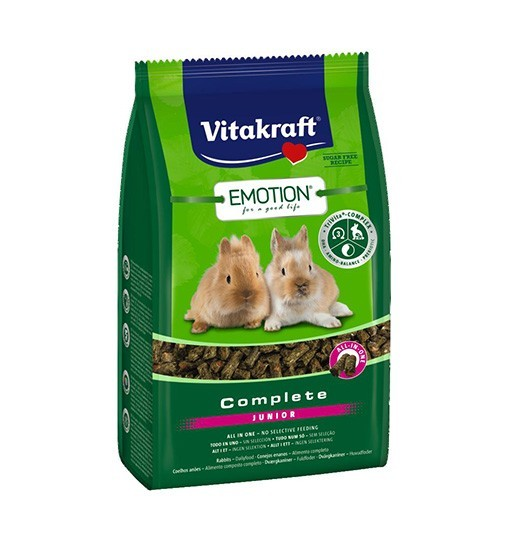 Vitakraft Emotion Complete Junior 800g - karma dla młodych królików