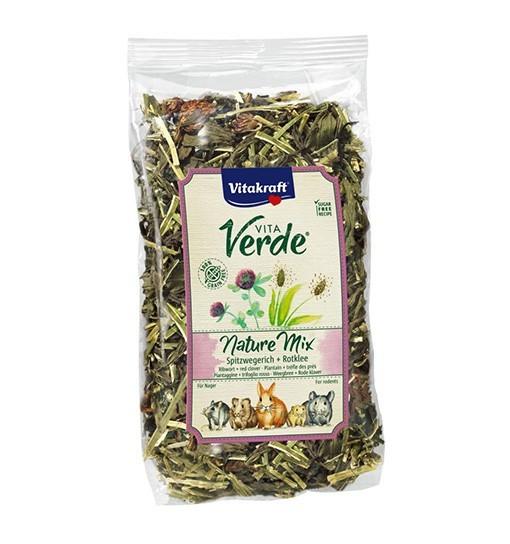 Vitakraft Vita Verde Nature Mix 70g - mieszanka babka/koniczyna dla gryzoni