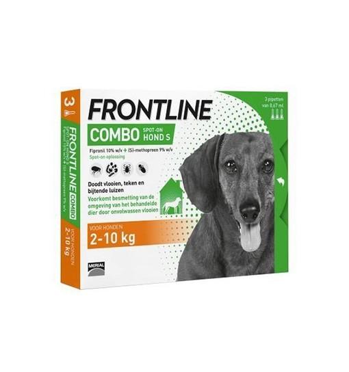 Frontline COMBO dla psów S 2-10 kg 3x0,67ml