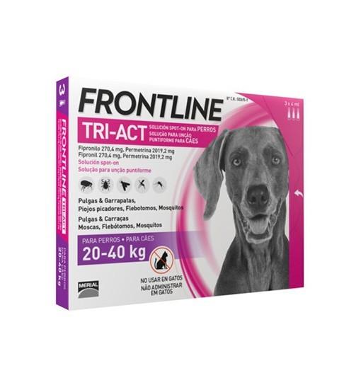 Frontline TRI-ACT dla psów 20-40 kg 3x4 ml