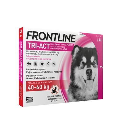 Frontline TRI-ACT dla psów 40-60 kg 3x6 ml