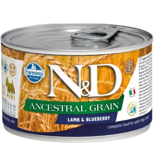 N&D ANCESTRAL GRAIN LAMB & BLUEBERRY Adult Dog
