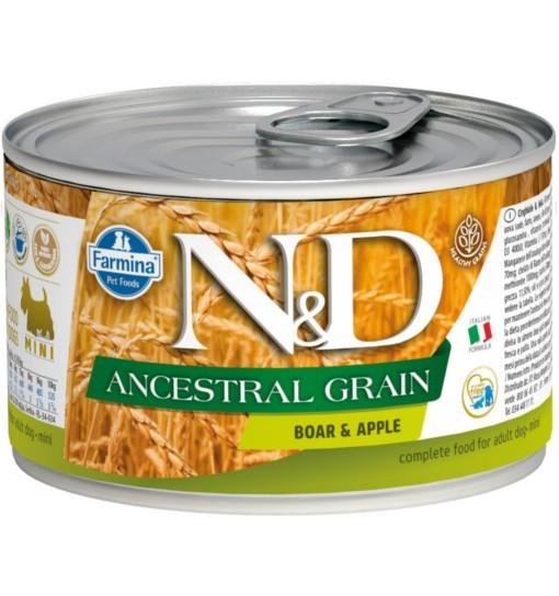 N&D ANCESTRAL GRAIN BOAR & APPLE Adult Dog