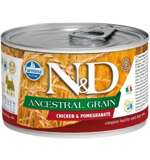 N&D ANCESTRAL GRAIN CHICKEN & POMEGRANATE Adult Dog