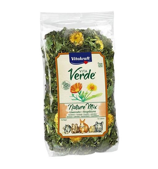 Vitakraft Vita Verde Nature Mix 100g - mieszanka mniszek/nagietek dla gryzoni