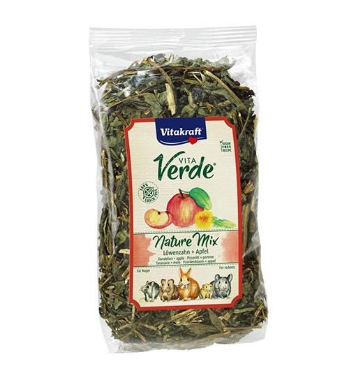Vitakraft Vita Verde Nature Mix 80g - mieszanka mniszek/jabłko dla gryzoni