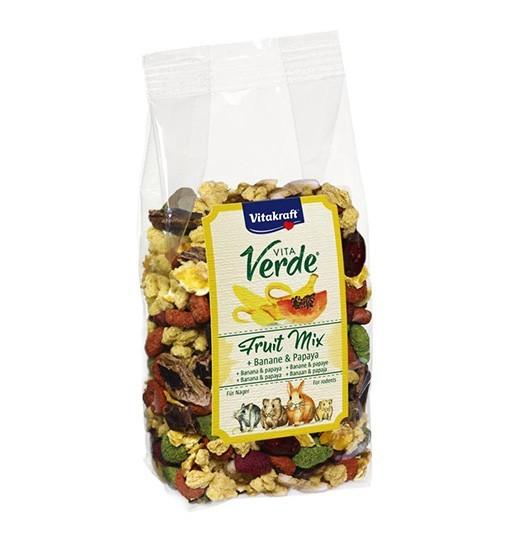Vitakraft Vita Verde Fruit Mix 200g - przysmak z bananem i papayą dla gryzoni