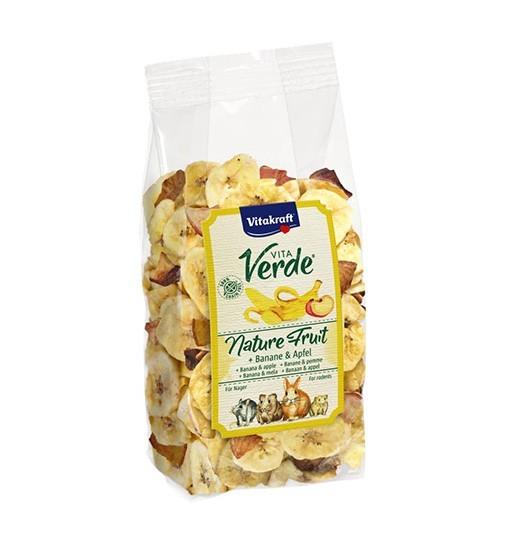 Vitakraft Vita Verde Fruit 100g - suszony banan z jabłkiem dla gryzoni