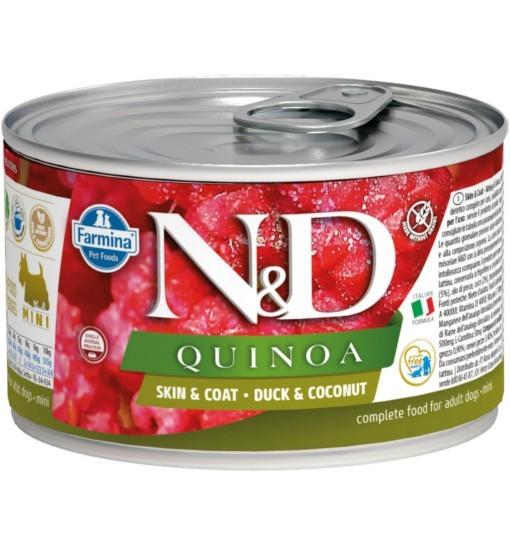 N&D QUINOA SKIN & COAT DUCK Adult Dog