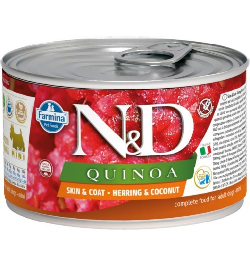 N&D QUINOA SKIN & COAT HERRING Adult Dog
