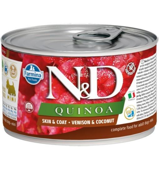 N&D QUINOA SKIN & COAT VENISON Adult Dog