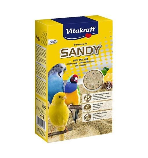 Vitakraft SANDY piasek mineralny dla ptaków 2kg