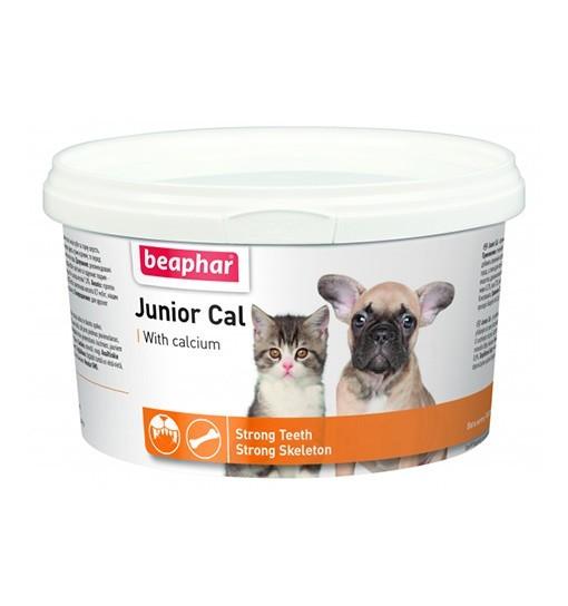 Beaphar Junior Cal 200g - prep. wapniowy dla szczeniąt i kociąt, samic w ciąży i okr. laktacji
