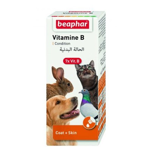 Beaphar Vitamin B Complex 50ml - krople, zestaw witamin grupy B