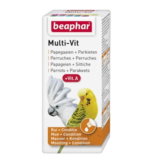 Beaphar Bogena Multi-Vit for Parrots 20ml - preparat witaminowy dla papug