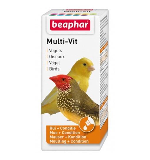 Beaphar Multi-Vit Vinka 50ml - preparat witaminowy dla ptaków