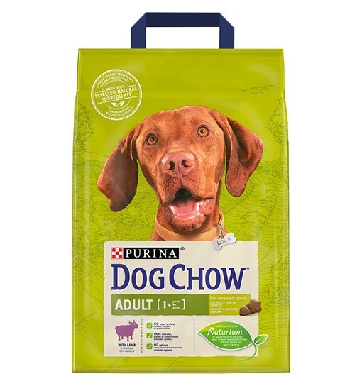 DOG CHOW ADULT Jagnięcina