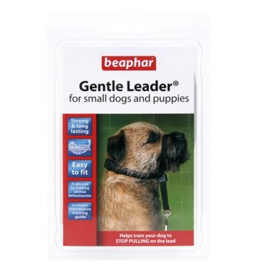 Beaphar Gentle Leader S - obroża uzdowa dla psów /czarwony