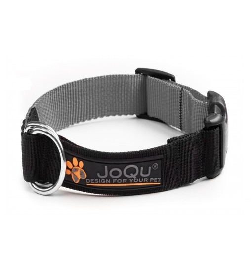 JoQu Vice Classic Collar Grey - obroża półzaciskowa