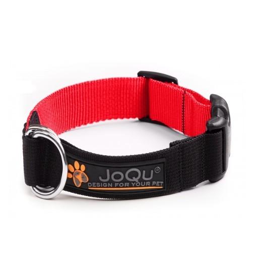 JoQu Vice Classic Collar Red - obroża półzaciskowa