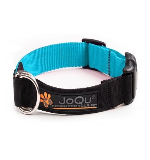 JoQu Vice Classic Collar Turquoise - obroża półzaciskowa