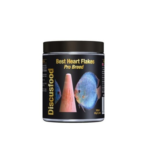 Discusfood Best Heart Flakes Pro Breed 65g