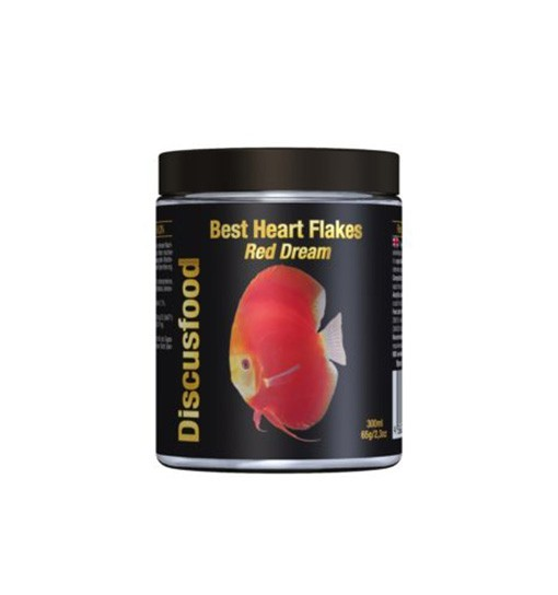 Discusfood Best Heart Flakes Red Dream 65g