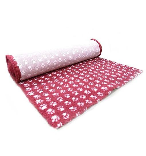 Canifel Posłanie Dry Bed - małe łapki, wrzosowo/białe