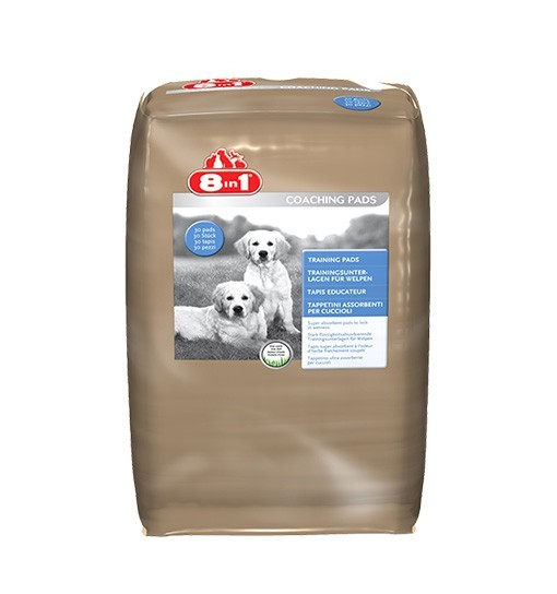 8in1 Maty do nauki czystości 57 x 56 cm, o zapachu trawy /30szt