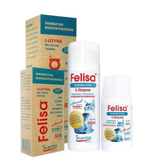Felisa - mikrokapsułkowa L-lizyna dla kociąt i kotów