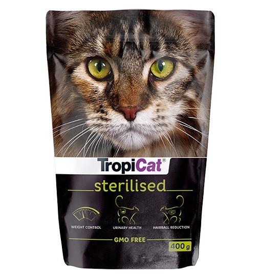 TropiCat Premium Adult Sterilised - dla kotów dorosłych, sterylizowanych