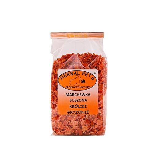 Marchewka suszona króliki gryzonie 125 g