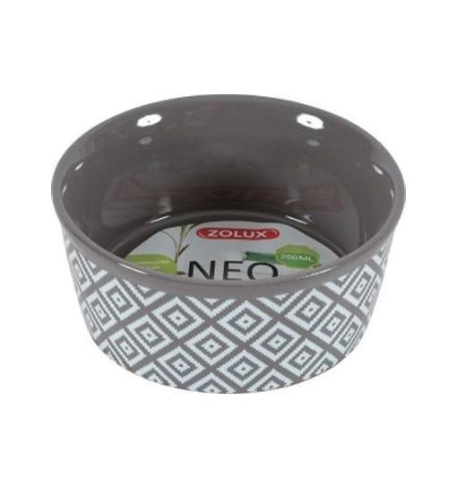 Zolux Gresowa miska dla gryzoni NEO - szara