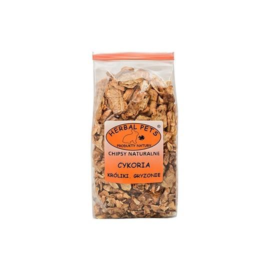 Chipsy naturalne Cykoria króliki gryzonie 125 g