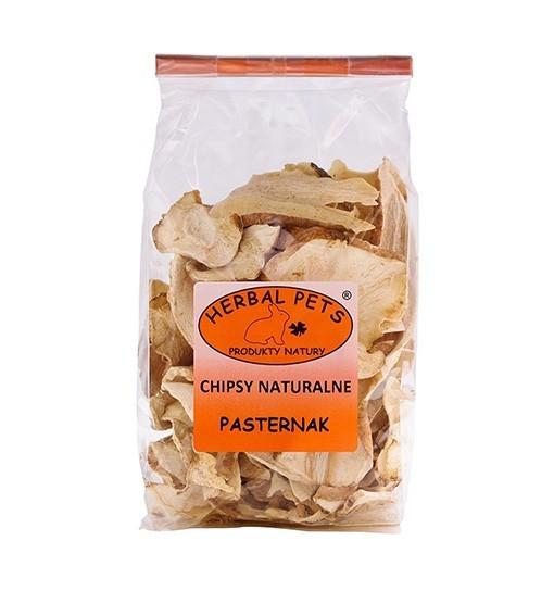 Chipsy naturalne Pasternak króliki gryzonie 125 g