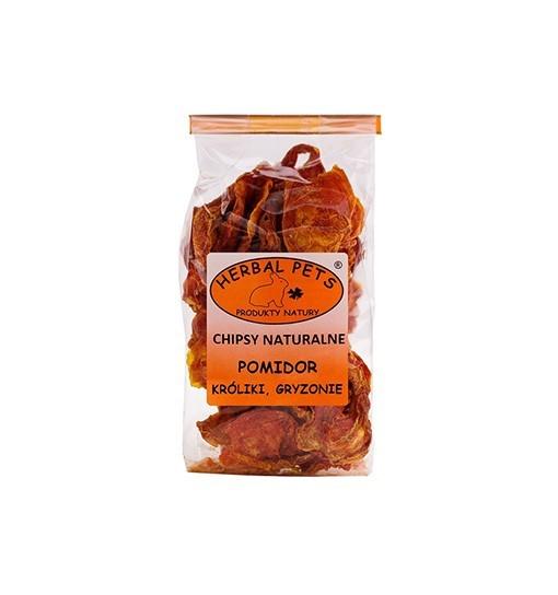 Chipsy naturalne Pomidor króliki gryzonie 40 g
