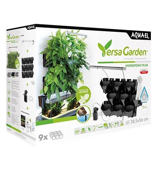 Aquael Versa Garden - modułowe systemy ogrodów wertykalnych