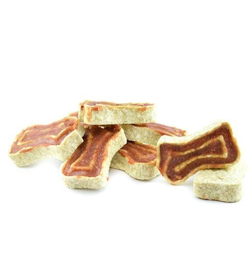 Kostki skórzane z mięsem z jagnięciny 500g