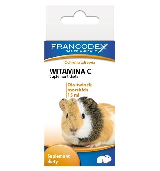 Witamina C dla świnek morskich 15 ml