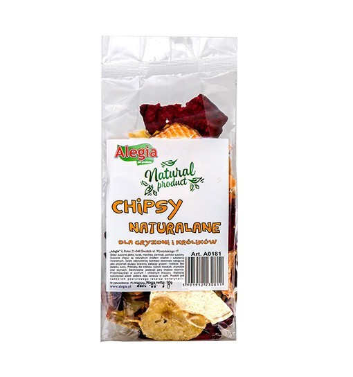 Alegia chipsy naturalne 90g