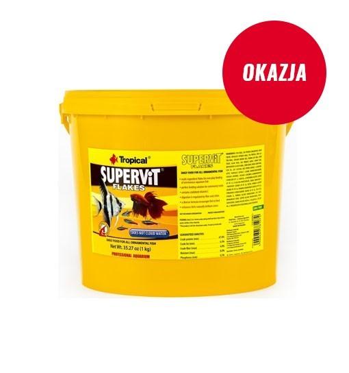 Supervit płatki w wiaderku 1kg/5l