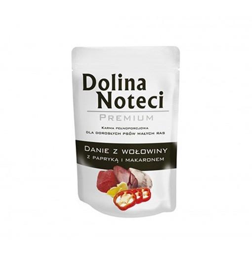 Dolina Noteci Premium Danie z wołowiny z papryką i makaronem 100 g