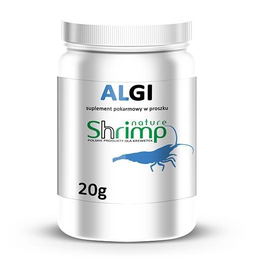 Shrimp Nature - suplement pokarmowy w proszku - ALGI MORSKIE 20 g