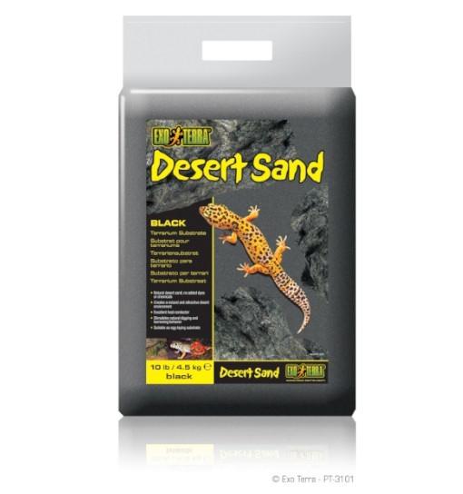 Exo-Terra Podłoże Desert Sand 4,5kg - czarne (PT3101)